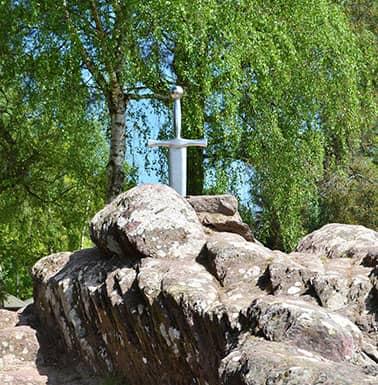 Excalibur à Brocéliande
